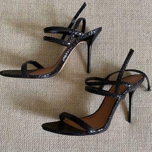 NWOT ZARA Strappy Leather Sandals SZ 39